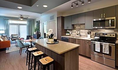 Kitchen, Platform Apartments, 0