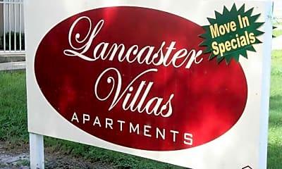 Lancaster Villas, 1