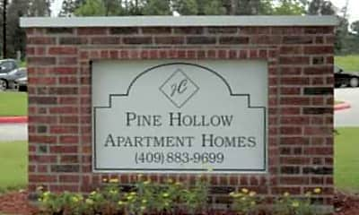 Community Signage, Pine Hollow, 0