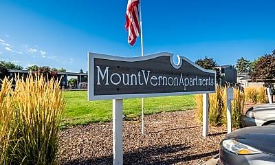 Community Signage, Mt.Vernon, 1