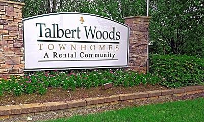 Community Signage, Talbert Woods, 2