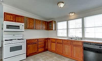 Kitchen, Willow Point, 1