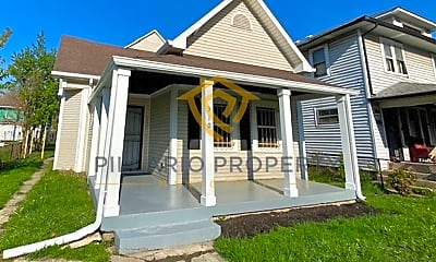 Building, 310 N Linwood Ave, 1