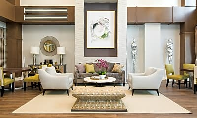 Living Room, Verde at Howard Square, 0