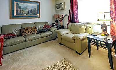 Living Room, White Oak Square, 1