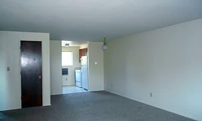 Living Room, Campus Villa Apartments, 1