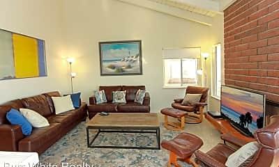 Living Room, 404 E Oceanfront, 1