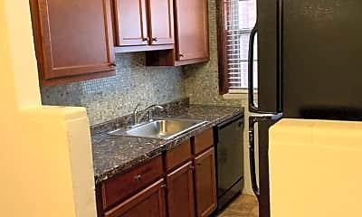 Kitchen, 6330 Bancroft Ave, Apt 1W, 0