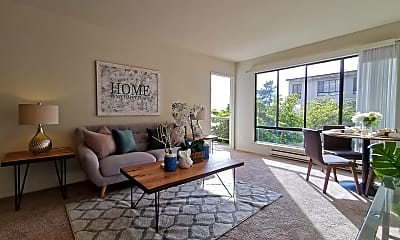 Living Room, 3 Admiral Drive #359, 2