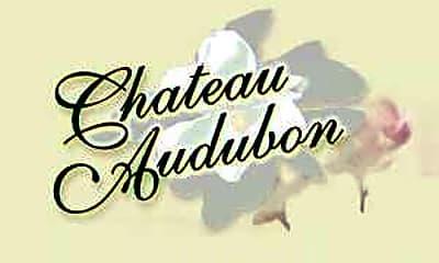 Community Signage, Chateau Audubon, 2