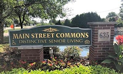 Main Street Commons, 1