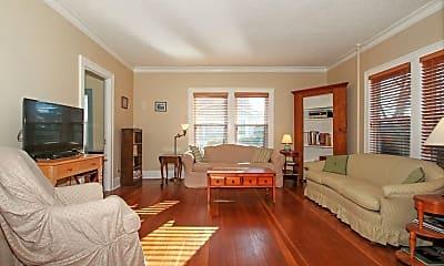 Living Room, 1329 Dodge St, 1