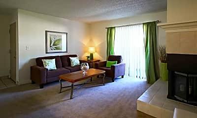 Living Room, Rancho Mirage, 1