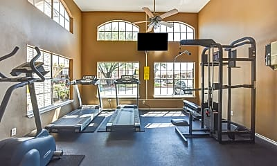 Fitness Weight Room, Gables at Richmond, 1