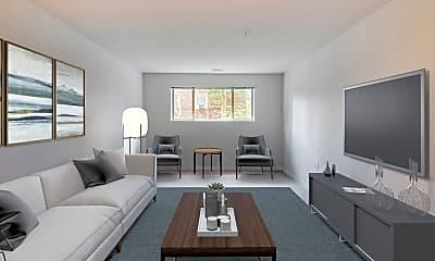Living Room, Cardiff Hall East, 0