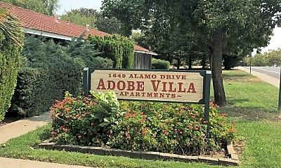 Adobe Villa Apartments, 1