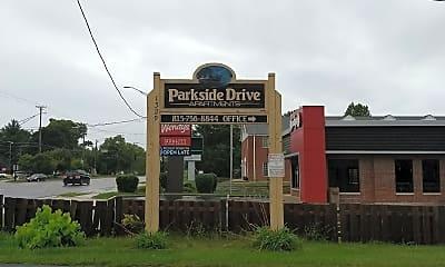 Parkside Drive Apartments, 1