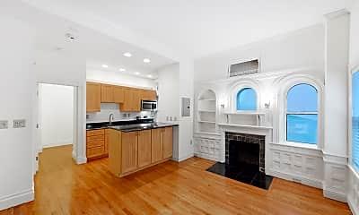 Kitchen, 195 Commonwealth Avenue, Unit 1, 2