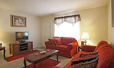 Living Room, Arbor Green Apartments, 1