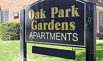 Community Signage, Oak Park Gardens, 2
