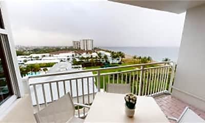 Patio / Deck, 5200 N Ocean Blvd, 0