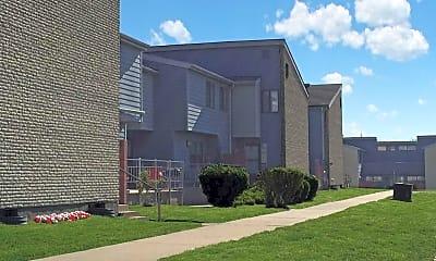 Building, Parker Square Apartments, 1