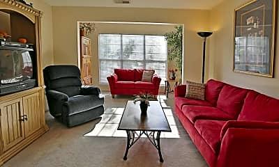 Living Room, Century Oaks Apartments, 0