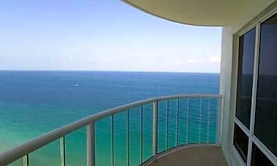 Patio / Deck, 3410 Galt Ocean Dr, 0