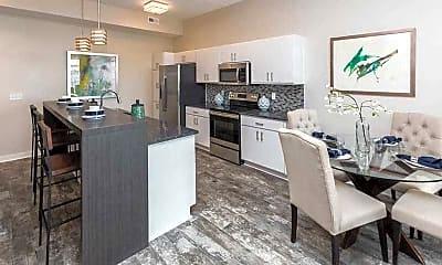 Kitchen, Cadence Apartments, 0