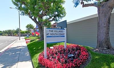Community Signage, The Village at South Coast, 2