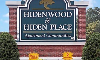 Building, Hidenwood Apartments, 2