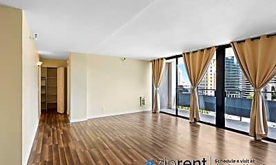Living Room, 801 Franklin Street, 1105, 0