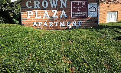 Crown Plaza Apartments, 1