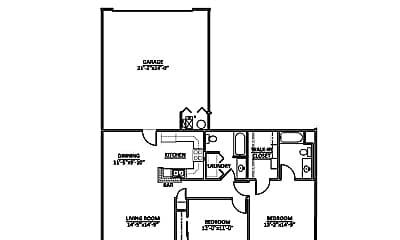 Building, 3161 Foxbridge Dr, 1