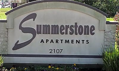Community Signage, Summerstone Apartments, 1