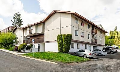 Building, Cedar Apartments, 0