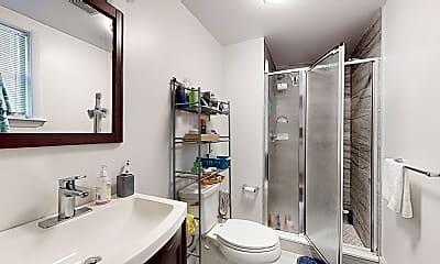 Bathroom, 393 Washington St., #1, 2