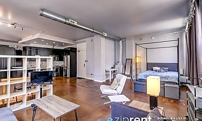 Living Room, 215 W 7Th St, 1002, 1