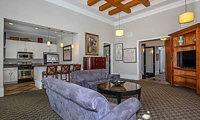 Living Room, Bellecour Way Apartment Homes, 1