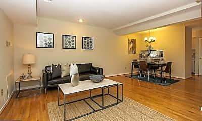 Living Room, 8930 Battery Pl 16, 1