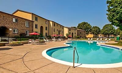 Pool, Rosedale Apartments, 0