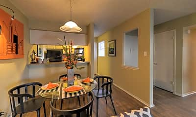 Dining Room, Acadia, 1