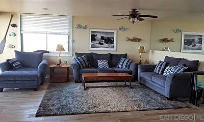 Living Room, 909 Coast Blvd 18, 1