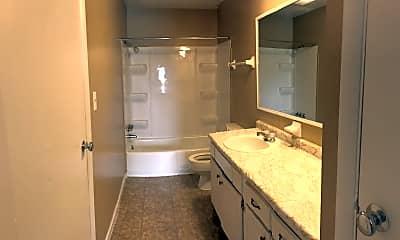 Bathroom, Highland Park Apartments, 2