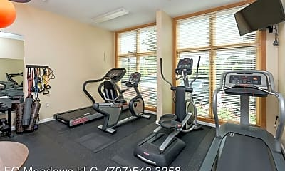 Fitness Weight Room, 3587 Round Barn Blvd Manager Office, 2