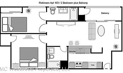 Kitchen, 251 Robinson St, 2