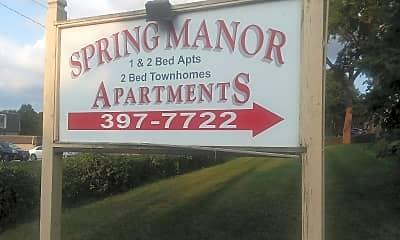 Spring Manor Apts, 1