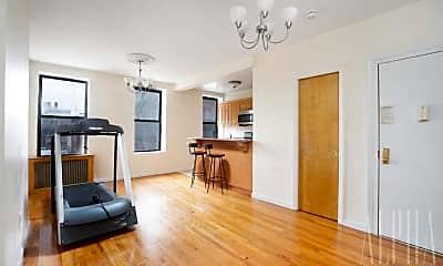 Living Room, 405 E 116th St, 1