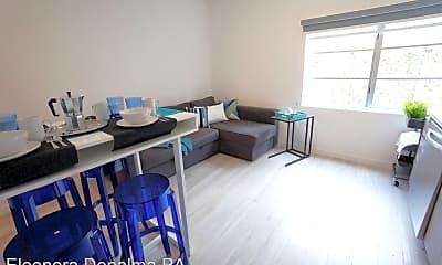 Living Room, 1450 Meridian Ave, 0
