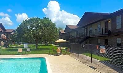 Pool, Gladefield Garden Apartments, 1